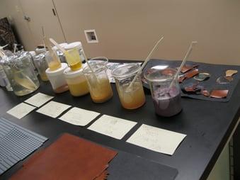 Lab testing - glue