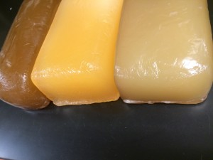 Color Variation in Protein Glue