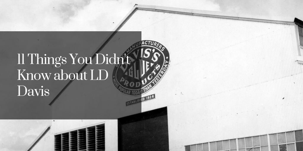 11 Things You Didn't Know about LD Davis
