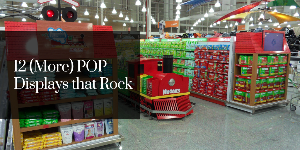 12 (More) POP Displays that Rock
