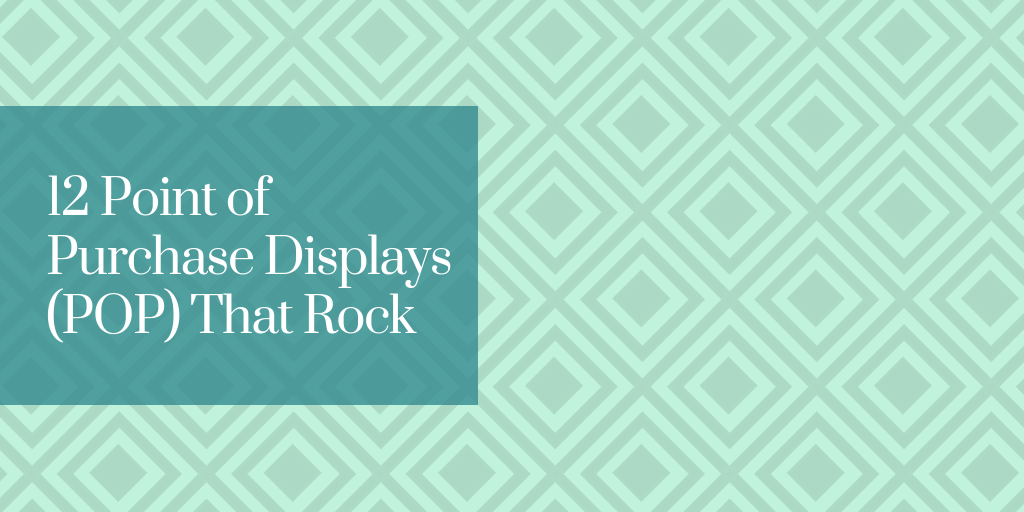 12 Point of Purchase Displays (POP) That Rock