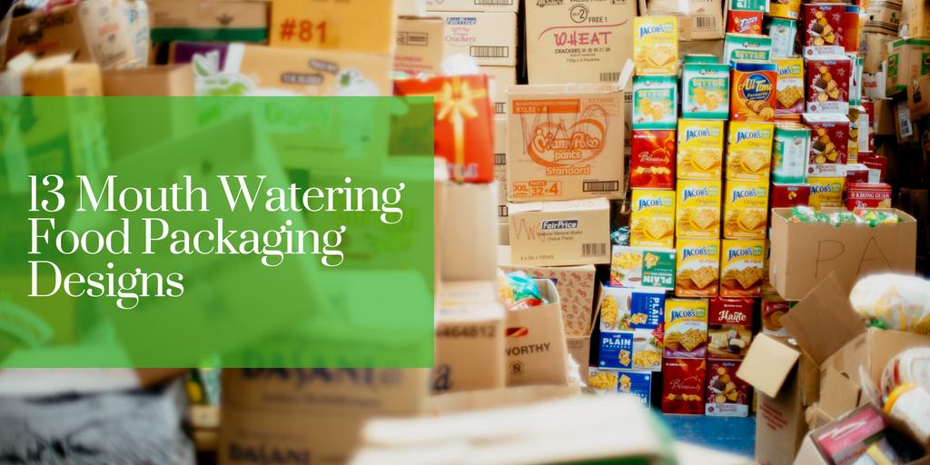 13 Mouth Watering Food Packaging Designs