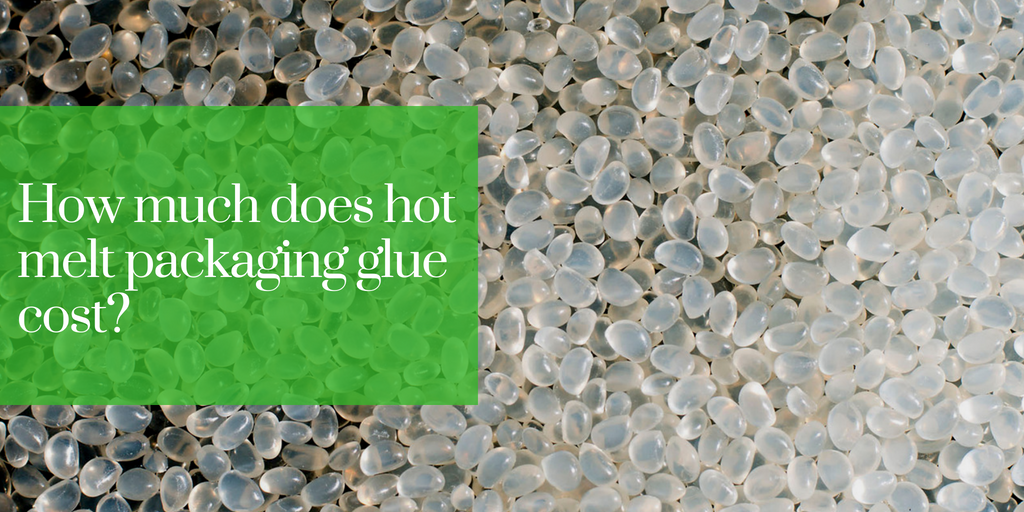 How much does hot melt packaging glue cost?