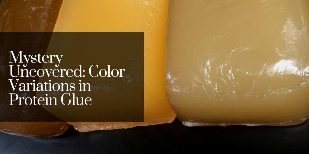 Mystery Uncovered: Color Variations in Protein Glue