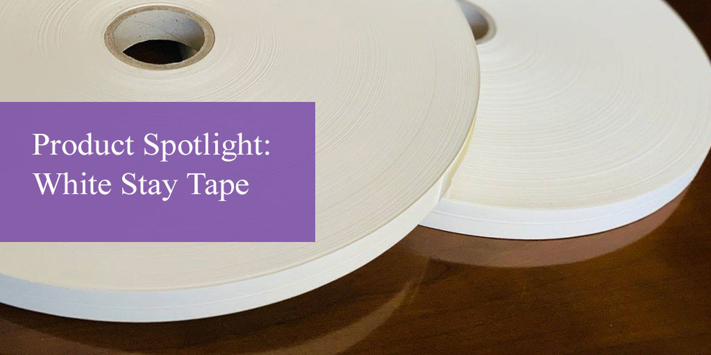 Product Spotlight: Heat-Seal White Stay Tape