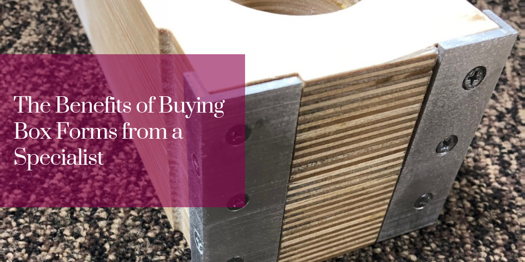 The Benefits of Buying Box Forms from a Specialist