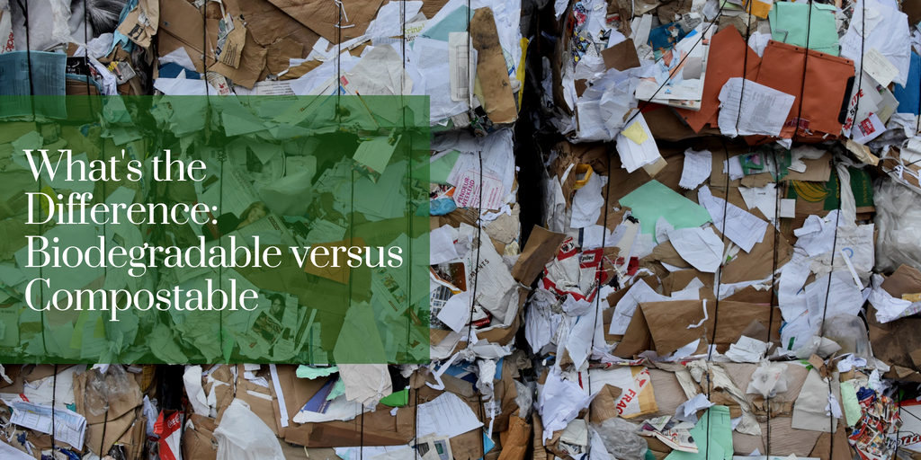 What's the Difference: Biodegradable versus Compostable