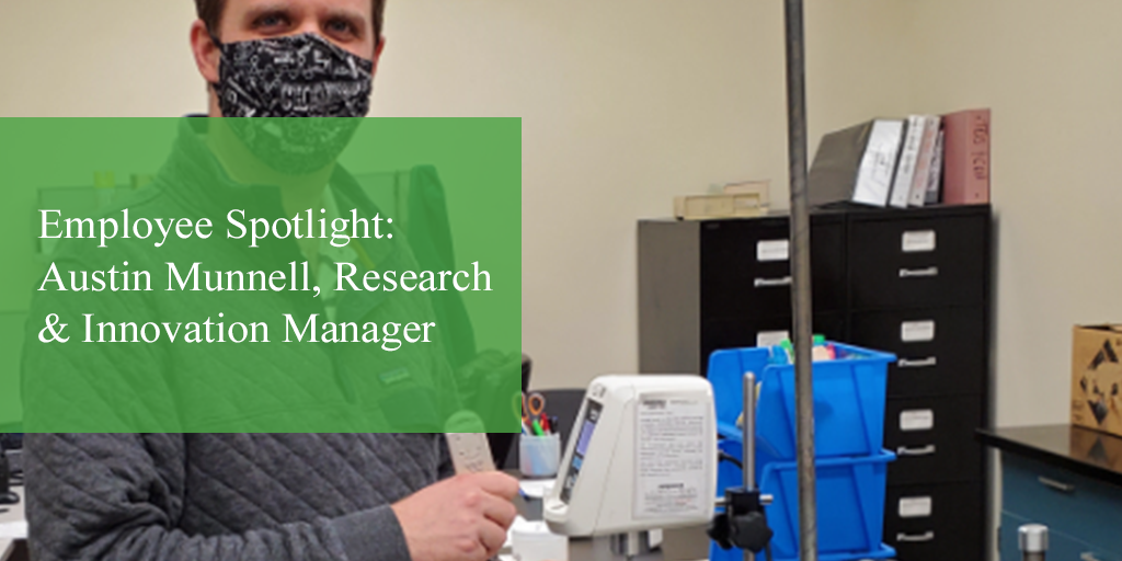 Employee Spotlight: Austin Munnell, Research & Innovation Manager