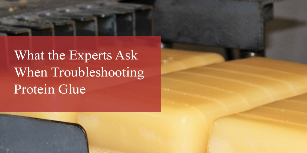 Questions the Experts Ask When Troubleshooting Protein Glue