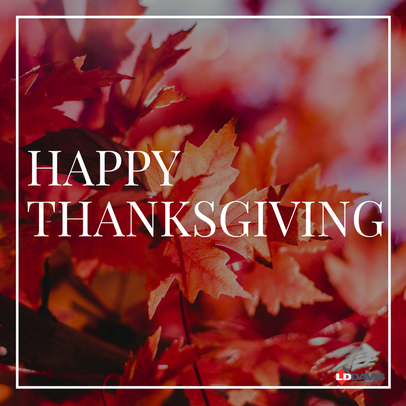 What Is LD Davis Industries Thankful For?